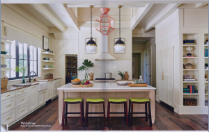 kitchen-cabinets-in- chattanooga-tn-cream-kitchen-blush-island-lime-seat cushions